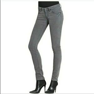 Cabi stormy gray super skinny jeans 4 style 921
